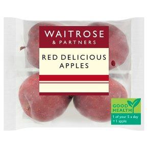 Waitrose Red Delicious apples