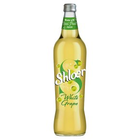 Shloer sparkling white grape juice drink