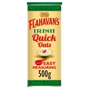 Flahavan's quick microwaveable oats