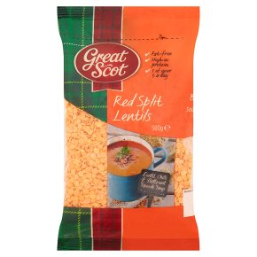 Great Scot red split lentils