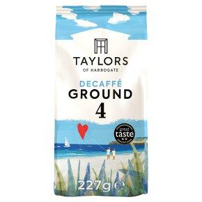 Taylors Decaffe rich roast coffee