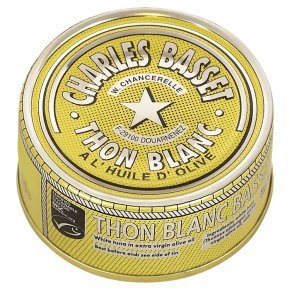 Charles Basset white tuna in extra virgin olive oil