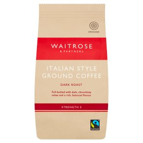 Waitrose cafetière Italian coffee blend
