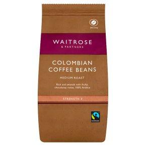Waitrose Colombian coffee beans