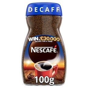 NESCAFE Original Decaff Instant Coffee 100g