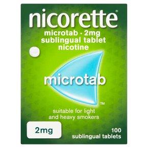 Nicorette microtab, 2mg