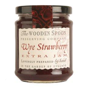 Wooden Spoon Wye strawberry extra jam