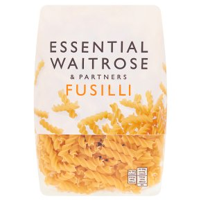 essential Waitrose fusilli