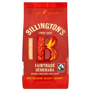 Billington's Fairtrade natural demerara sugar