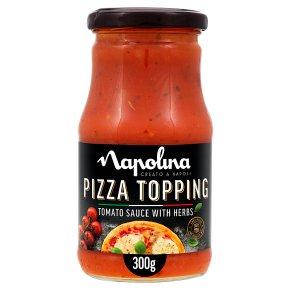 Napolina tomato & herbs pizza topping