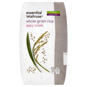 essential Waitrose easy cook whole grain rice