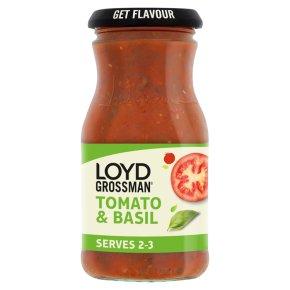 Loyd Grossman pasta sauce tomato & basil