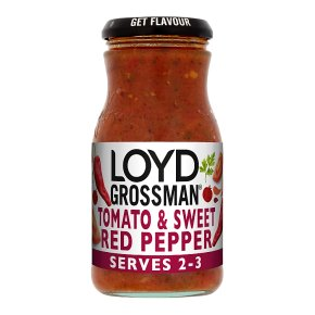 Loyd Grossman sweet red pepper sauce