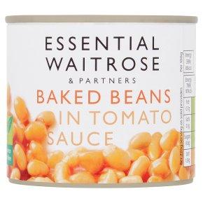 essential Waitrose baked beans in tomato sauce