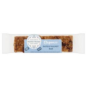 Honeyrose organic date & walnut bar