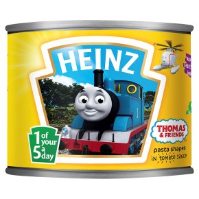 Heinz pasta shapes Thomas & friends