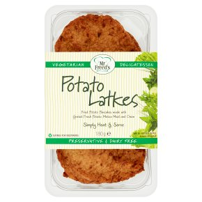Great Food potato latkes