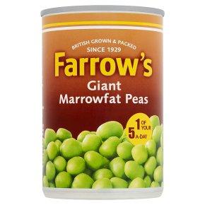 Farrow's giant marrowfat processed peas