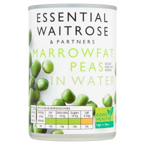 essential Waitrose canned  marrowfat peas