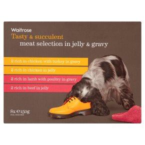 Waitrose Meat Selection in Jelly & Gravy
