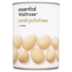 essential Waitrose small potatoes in water