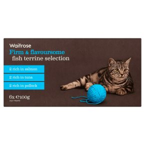 Waitrose special recipe fish selection cat food