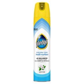 Pledge jasmine clean & dust