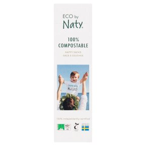 Nature babycare eco disposal bags