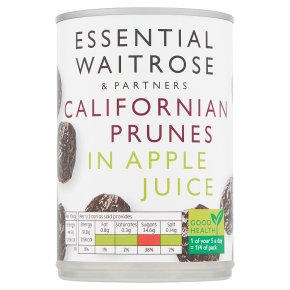 essential Waitrose Prunes in Apple Juice