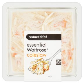 essential Waitrose reduced fat coleslaw