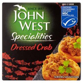 John West dressed crab