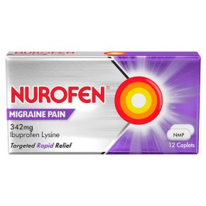 Nurofen 12 migraine pain tablets