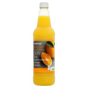 Waitrose High Juice - 50% Orange fruit juice