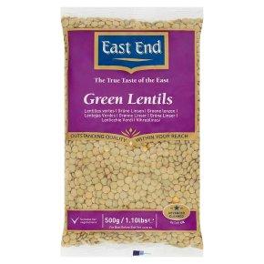 East End green lentils