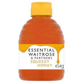 Waitrose pure clear squeezy honey