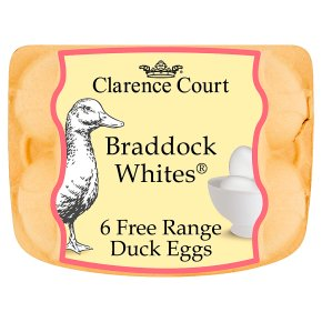 Clarence Court Braddock Whites British free range duck eggs