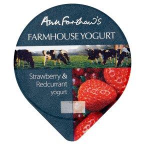 Anne Forshaw's farmhouse strawberry yogurt