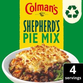 Colman's shepherd's pie recipe mix