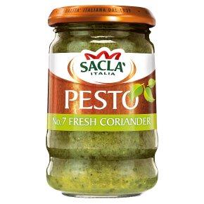 Sacla' Italia fresh coriander pesto
