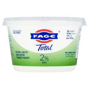 Total 2% low fat Greek strained yoghurt