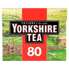Taylors of Harrogate 80 Yorkshire Tea Bags