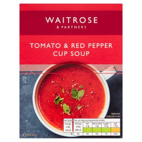 Waitrose Rich & Warming Tomato Pepper Cup Soup