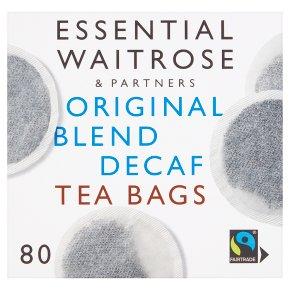Essential Original Blend Decaf 80 Tea Bags