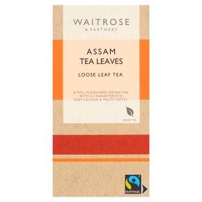 Waitrose Assam leaf tea