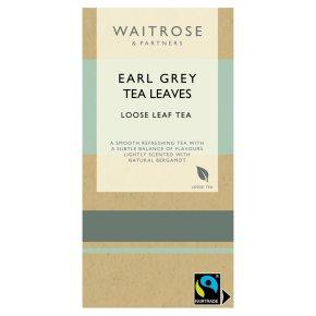 Waitrose Earl Grey Tea Loose Leaf Tea