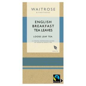 Waitrose English breakfast leaf tea