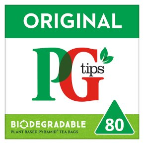 PG tips 80s Pyramid Teabags