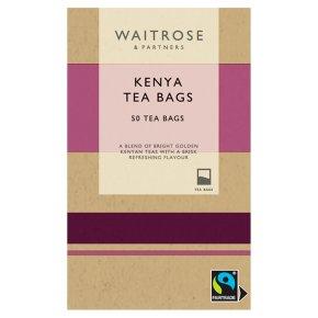 Waitrose Kenya 50 tea bags