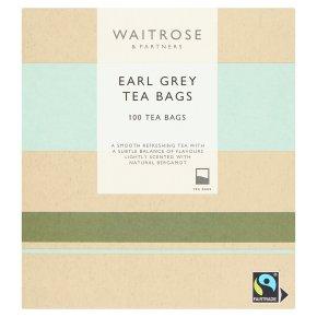 Waitrose Earl Grey 100 tea bags