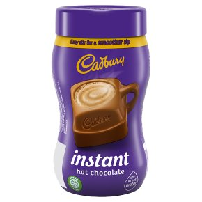 Cadbury hot chocolate instant